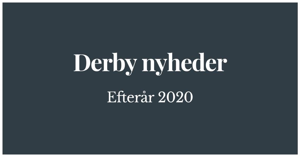 Dansk Jagthunde Derby efterår 2020